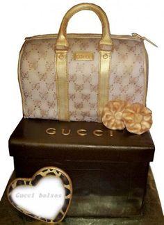 Gucci torta de cumpleaños