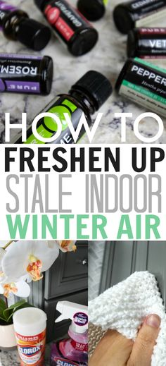 Tips and shortcuts for freshening up the stale winter air in your home after a long cold season! #ad