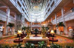 The Grand Floridian (interior) - Orlando