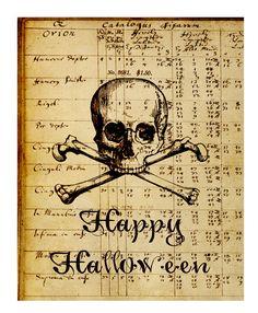 Free Halloween Printable Art Print   Call Me Victorian