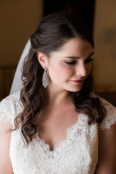 Romantic & Fancy Wedding from Breanna Elizabeth Photography featured on Burgh Brides