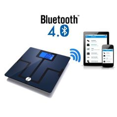 Smart Scales Precision Body Composition, Body Fat and Muscle Analyser Health Monitor by Weight, Visceral Fat, Bone Density & Water. Bluetooth upload to App. Exports to Apple Health. Smart Scale, Apple Health, Visceral Fat, Bone Density, Body Composition, Iphone 4s, Monitor, Bluetooth, Ipad
