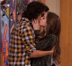 Victorious Jade And Beck Kissing