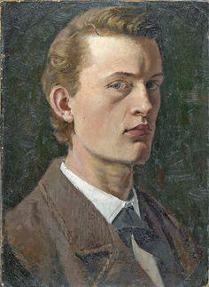 Edvard Munch - Self Portrait, 1882