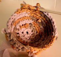 Rag Baskets - A Tutorial (crochet)
