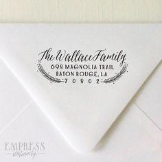 Address Stamp Wedding Return Address Stamp Personalized Return Address Stamp Rubber Stamp No.84 Return Address Stamp Custom Address Stamp