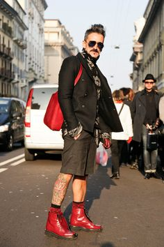 Streetfashion Milan Menswear FW2012 Day 2   Team Peter Stigter, catwalk show, streetwear and fashion photography