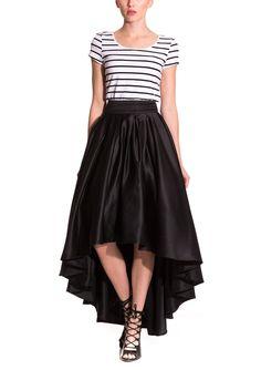 GRACIA Uneven Hem Skirt | ideel