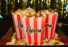 The best duo of the awards season party circuit: Sweet & Salty Movie Mix!