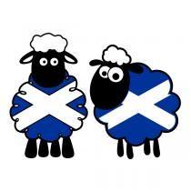 Scotland Sheep SVG Cuttable Design