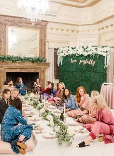 Need Hen Party Ideas? Check Out These - Poptop Event Planning Guide Top 10 Best Hen Party Ideas Pajama Party Grown Up, Soirée Pyjama Party, Adult Slumber Party, Pj Party, Sleepover Party, Bachelorette Slumber Parties, Adult Party Bags, Party Games, Bridal Party Pajamas