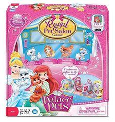 Disney Princess Palace Royal Pet Salon Board Game by Disney Princess