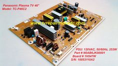 Panasonic P board: N0AB6JK00001. 120VAC 50/60Hz 253W. Tested. Blinking Code Tip #Panasonic