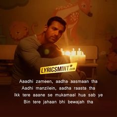 Paniyon Sa Lyrics – Satyameva Jayate starring John Abraham: A beautiful romantic song in the voices of Atif Aslam and Tulsi Kumar. The song is composed by Rochak Kohli with lyrics written by Kumaar. Song Lyrics Beautiful, Romantic Song Lyrics, Cool Lyrics, Love Songs Lyrics, Music Lyrics, Love Quotes For Him Romantic, Love Song Quotes, Song Lyric Quotes, Drama Quotes