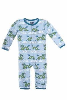 7d638a865 KicKee Pants Baby Boys Coverall Cloud Dragon -- Find out more about the  great product at the image link.