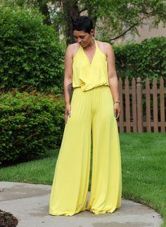 DIY Sunshine Jumpsuit + Sew Along Link - Mimi G Style