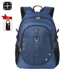 36.00$  Buy now - Suissewin Fashion School Bags for Teenage Girls Small Waterproof Backpack Schoolbag Boys Bookbag mochila Korean Style Black Blue  #magazineonlinewebsite
