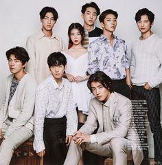 Cast of Scarlet Heart Ryeo Asian Actors, Korean Actors, Korean Dramas, Baekhyun Moon Lovers, Scarlet Heart Ryeo Cast, Scarlet Heart Ryeo Funny, Moon Lovers Drama, Kang Haneul, Drama Fever