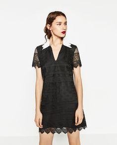 SHORT LACE DRESS-DRESSES-WOMAN | ZARA United States