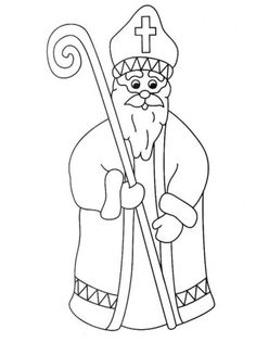Christmas Activities, Christmas Crafts, St Nicholas Day, Saint Nicolas, Santa Pictures, Christmas Coloring Pages, Christmas Embroidery, Christmas Colors, Winter Time