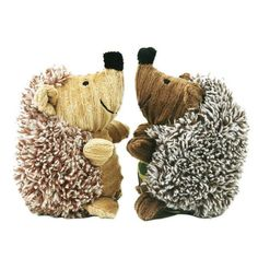 Little Plush Squeaky Dog Toys Hedgehog Shaped Puppy Dog Chew Toy Pet Supplies Molar Cleaning Teeth Functions Dolls TAILUP NEW