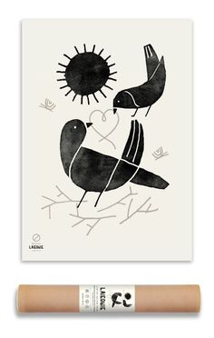 ART PRINT, A2 Nordic Bird | Laikonik