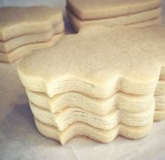 Here's my favorite sugar cookie recipe! 2 cups granulated sugar 2 Cups salted butter, softened 2 eggs 2 teaspoons vanilla zest of one large, or two small, lemo