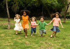 Great ideas for outdoor games (toddler and preschool ages)