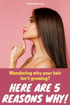 Are you doing everything you can for healthy hair growth but nothing seems to be working? This might be why! Long Hair Tips, Grow Long Hair, Easy Hairstyles For Long Hair, Grow Hair, Healthy Hair Tips, Healthy Hair Growth, Hair Growth Tips, Vitamins For Hair Growth, Hair Vitamins