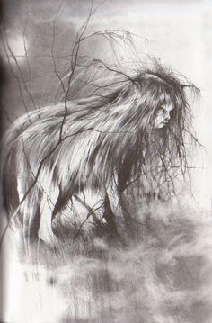 one of my favorite illustrators, Stephen Gammell