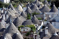 Alberobello, Italy - this is on the east coast of Italy! We LOVED our time in Alberobello! It is famous for the Trulli house!!