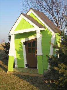Whimsical Playhouse. $1,500.00, via Etsy.