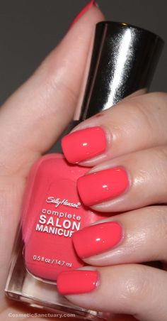 Sally Hansen...officially my favorite nail polishes. They do not chip & have a wide brush.