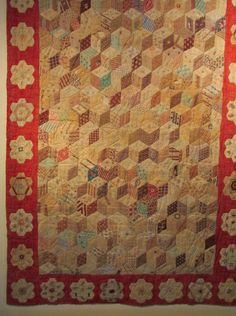 Aunt Tjorven: The Quilt Exhibition An Moonen in Westervoort.  Children's Quilt from around 1835.