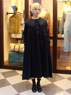 亞人さんの洋裝「mystery 」を使ったコーディネート - This #winter #outfit features vintage items and accessories from mystery. #dolly kei