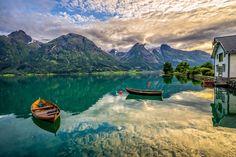 Oppstrynsvatn, Hjelledalen (Norway)