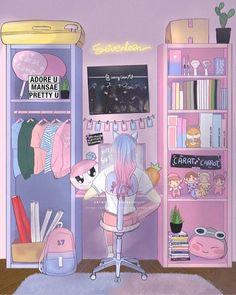 carat y monbebe fanart Kpop Drawings, Cute Drawings, Aesthetic Drawing, Aesthetic Art, Carat Bong, Carat Seventeen, Adore U, Seventeen Wallpapers, Cute Art Styles
