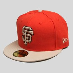 The SF Giants New Era cap in Sunset Orange. Available in fitted and snapback styles. NEW in-store and online. #UpperPlayground #ShopUP #NewEra #SFGiants