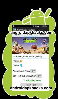 Alien Creeps Hack Android Apk Mod