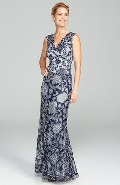 Tadashi Shoji Gown & Accessories available at #Nordstrom