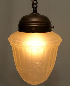 Jugenstil lamp