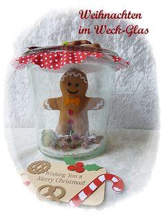 Lebkuchen-Männchen im Weckglas Weihnachten im Glas von Die Geschenkidee auf DaWanda.com