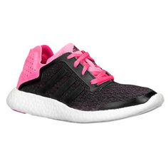 Adidas Pure Boost Reveal Womens Running Shoes 1010 PinkBlack -- For more information, visit image link.