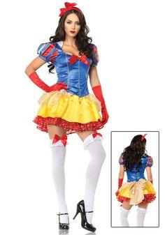 Classic Sexy Snow White Halloween Costume