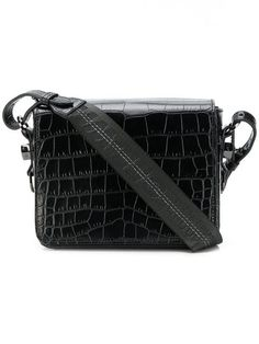 eb53d77dce53 Off-White Embossed Crossbody Bag - Farfetch