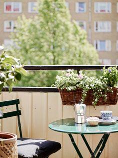 City balcony in Göteborg