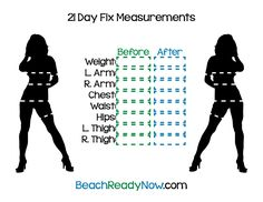 21-Day Fix Printables