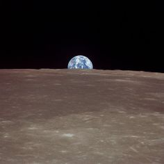 Earth from Moon...