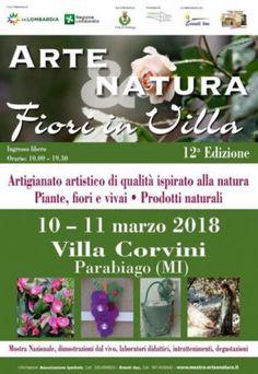 Arte e Natura Fiori in  Villa a Parabiago MI http://www.panesalamina.com/2018/62387-arte-e-natura-fiori-in-villa-a-parabiago-mi.html