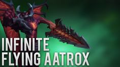 Infinite Flying Aatrox https://www.youtube.com/watch?v=0rKhwKKApGw #games #LeagueOfLegends #esports #lol #riot #Worlds #gaming